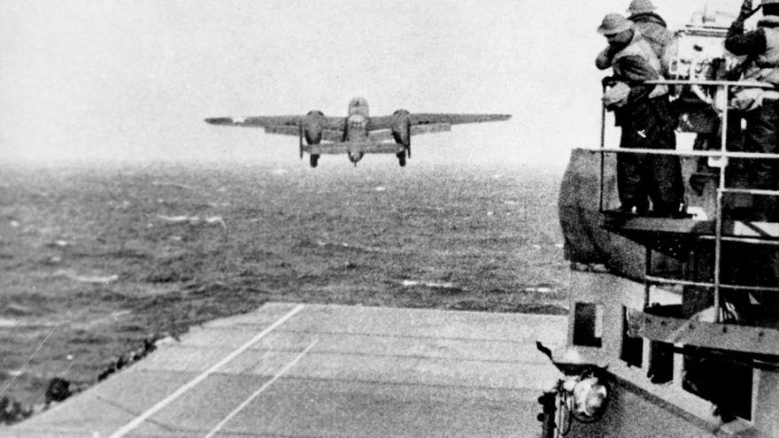 The Doolittle Raid on Japan, April 1942