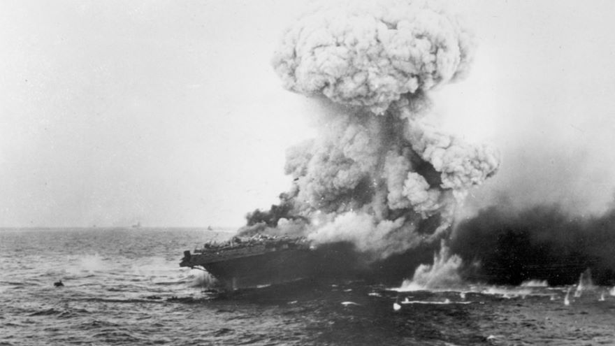 Battle of the Coral Sea, May 1942