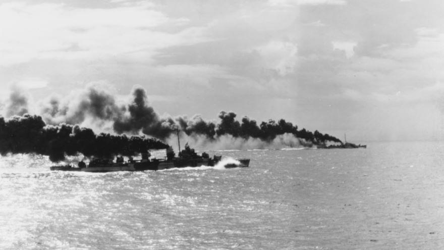 Battle of Leyte Gulf, October 1944
