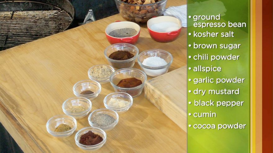 Barbecuing Meat with Dry Rubs and Sauces