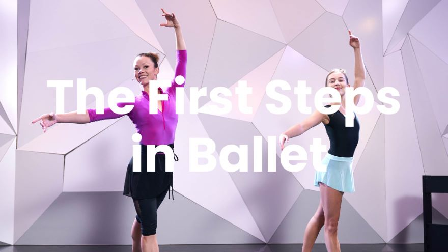 The First Steps in Ballet