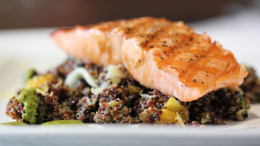 Grilled Salmon: Breaking Down a Round Fish