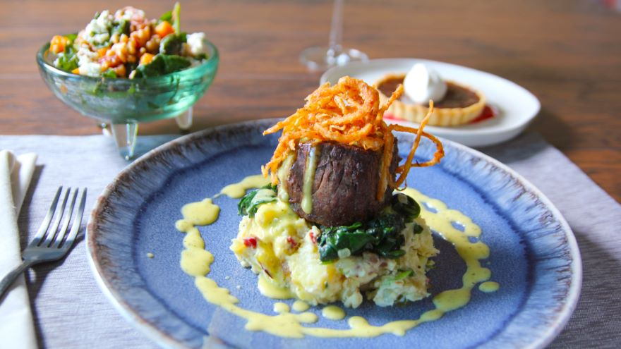 My Big Steak: Executing a Three-Course Meal