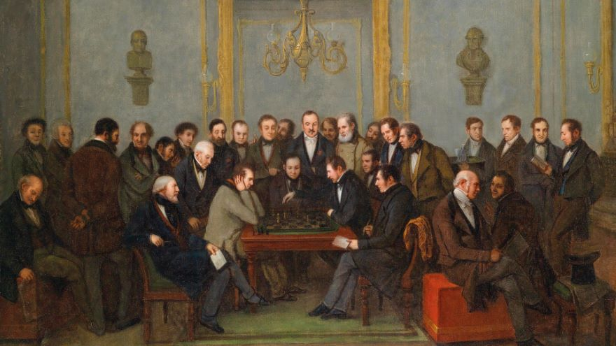 Chess Heroes of the Romantic Age