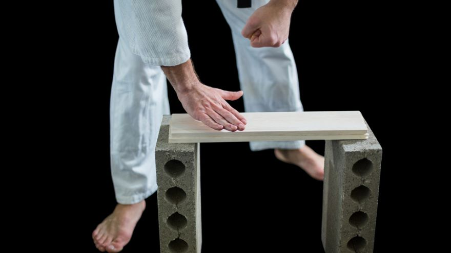 Tae Kwon Do: One-Step Sparring, Breaking Boards