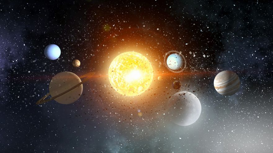 How the Solar System Family Is Organized