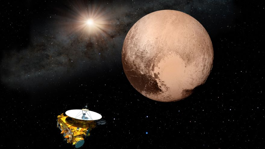 Pluto and Charon: The Binary Worlds