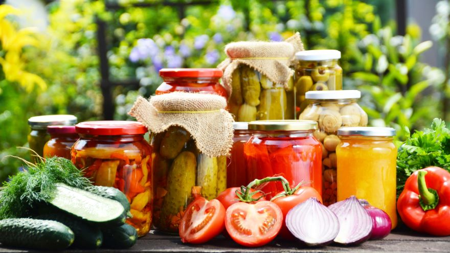 Preserving Food by Pickling and Fermenting