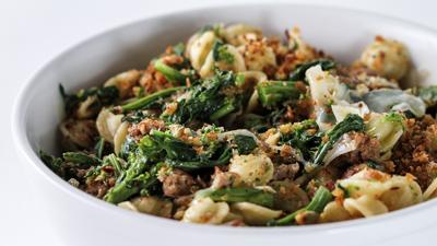 Broccoli Rabe with Orecchiette