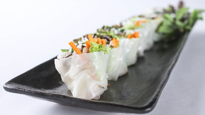 Hand-held Salad Rolls
