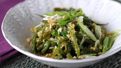 Dry-fried Chinese Long Beans