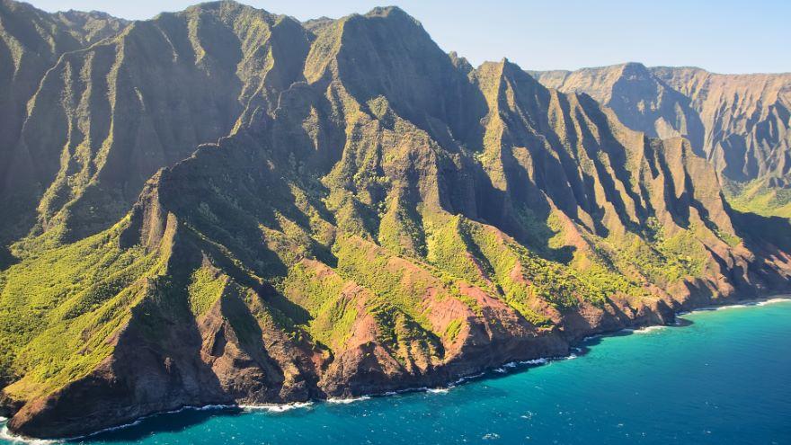 Hawaii's Primeval Napali Coast